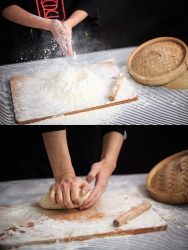 pounding flour and dough, courtesy of google images
