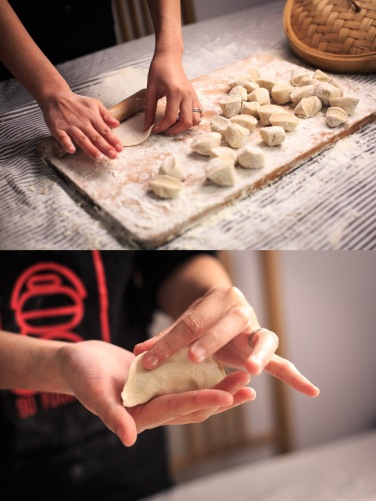 dumpling shaping, courtesy of google images